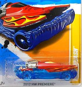 Hot Wheels 2012 HW PREMIERE  MAD SPLASH H Case
