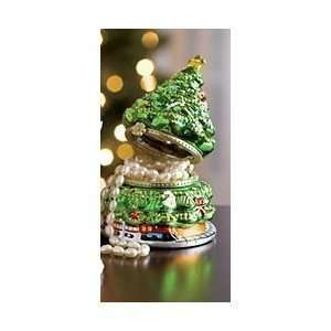 Mr. Christmas Porcelain Music Gift Box   Christmas Tree