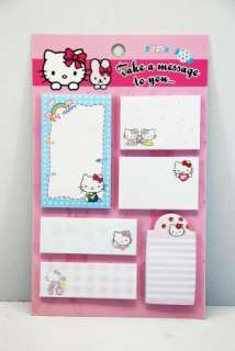 Classical Hello Kitty sticky post it memo Notes V 04