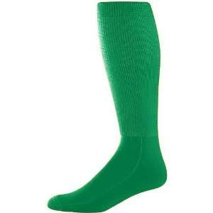 Soccer Socks KELLY GREEN ADULT (TUBE SOCK SIZE 10 13) Sports
