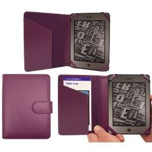 PadWear PURPLE Executive BOOK Wallet Case Cover Shield Slot