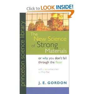 Science of Strong Materials: J. E./ Ball, Philip (INT) Gordon: Books