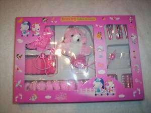 bow toy set girls bows clips fashion accessories Little girls play