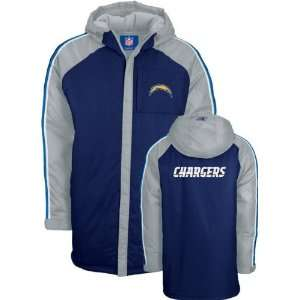 San Diego Chargers Navy/Grey GQ Lunar Heavyweight Jacket