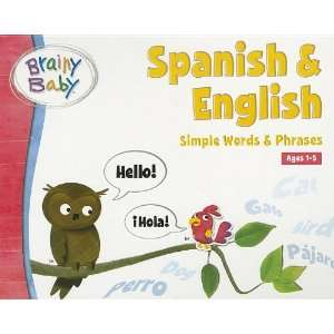 Brainy Baby Spanish/English Board Book Toys & Games