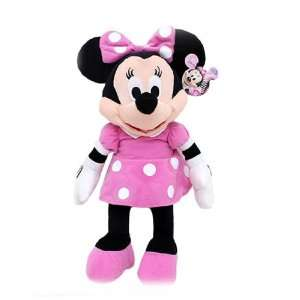 Disney Mickey Mouse Clubhouse   Minnie Mouse 17 Plush w