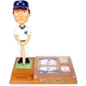 Hideki Matsui New York Yankees Home Uniform 9 Inch Classic Bobblehead