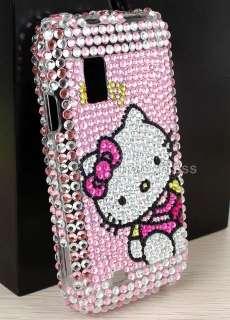 Bling Full Cover Hello Kitty For Samsung Fascinate i500