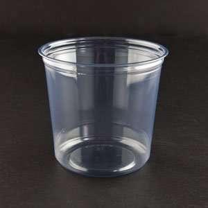 Fabri Kal Alur RD24 24 oz. Clear PET Plastic Round Deli