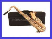 TENOR SAXOPHONE Sax   ROSE BRASS (PHOSPHOROUS COPPER)