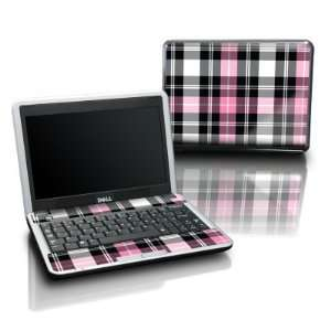 Pink Plaid Design Protective Skin Decal Sticker for DELL