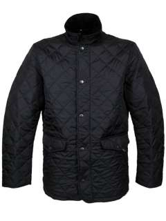 FCUK French Connection Hunter Style Quilted Jacket Mens