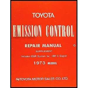 Toyota Mark II Emission Control Manual Original No. 98088 1: Toyota
