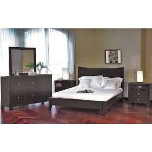 Beautiful Queen Bed in Java Finish #AD Coco q