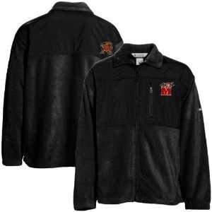 Maryland Terrapins Black Fastbreak Fleece Jacket