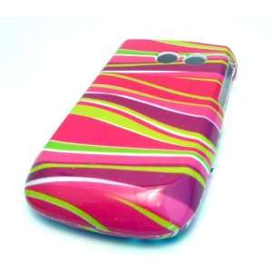 Samsung R375c Straight Talk Pink Swirl Zebra Gloss CASE