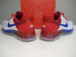 Trainer 1.3 Max Breather MP Pac Man sz 11.5 Pacquiao White Red Blue
