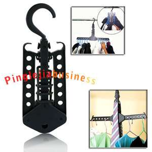 New Magic Foldaway Fold Clothes Space Rack Hanger Space Saving Scarves