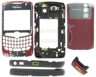 Red Nextel RIM BlackBerry 8350i OEM Housing Case Cover