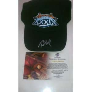 Tom Brady Signed New England Patriots Football Hat