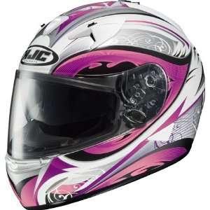 HJC IS 16 Lash Full Face Motorcycle Helmet Pink