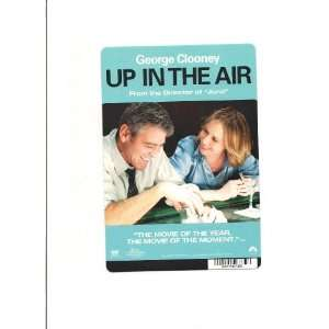 UP IN THE AIR MOVIE CARD STOCK PHOTO 8 X 5.5 CLOONEY