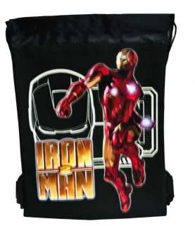 Marvel Iron Man String Bag Backpack