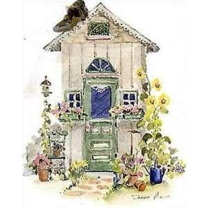 Garden Shed III by Sarah Malin 5x7