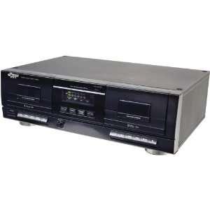 New PYLE PRO PT659DU DUAL CASSETTE DECK WITH MP3