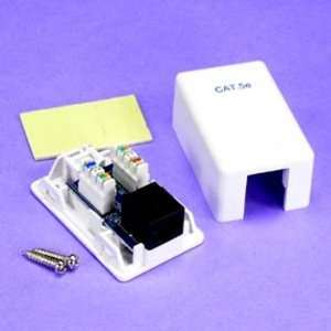 SF Cable, 1 Port CAT5E Surface Mount Box , PCB Type
