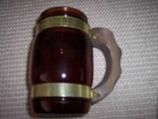Siesta Ware Beer Mugs w Wooden Handle