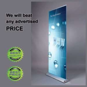 32 Wide Retractable Banner Stand + Free Print