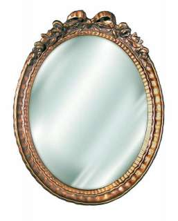 Small Oval Bow Mirror 30 Old World Finishes