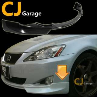 06 08 Lexus Is 250 350 JDM Front Lower Bumper Poly Polyurethane PU