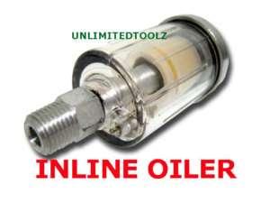 LOT OF 3 INLINE OIL LUBRICATOR OILER SEPERATOR FILTER