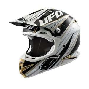 UFO Plastics Warrior H1 Motocross Helmet Black XXL 2XL