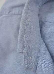 EUC Mens Large RALPH LAUREN Blake BLUE Casual Dress Shirt