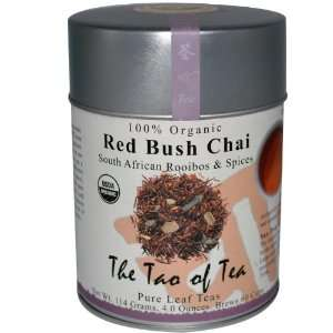 100% Organic South African Rooibos & Spices, Red Bush Chai