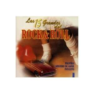 15 Grandes Del Rock & Roll Various Artists Music