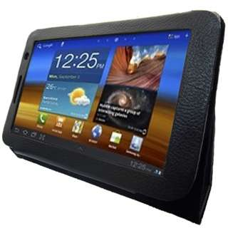For Samsung Galaxy Tab 7.0 Plus Tablet Folio Stand Leather Case Cover
