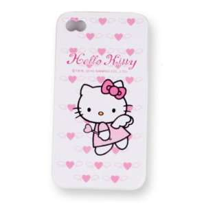 Case for Apple Iphone 4 Hello Kitty Cover Angel Cell
