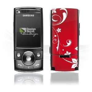 Design Skins for Samsung G600   Christmas Heart Design