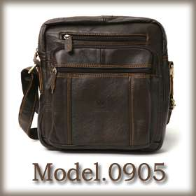 Rolendio Mens Cross Genuine Leather Messanger Bag 3Type