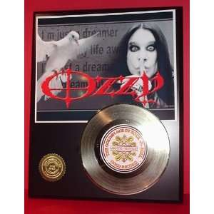 Gold Record Outlet Ozzy Osbourne 24kt Gold Record Display
