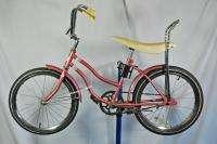 Vintage KIA Girls Muscle Bike Pink Juvenile Bicycle 1970s Korean 20