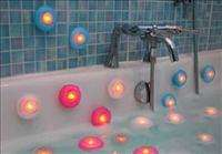 New 2 X LED Baby BB Toys Bath Bathtub Lamp Night Light