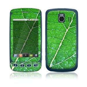 Green Leaf Texture Design Protective Skin Decal Sticker for LG Optimus