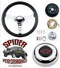 13 1/2 BOWTIE BLACK GRANT STEERING WHEEL (Fits Chevrolet Malibu