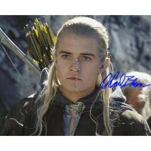 Orlando Bloom Signed Lord Of The Rings Photo2