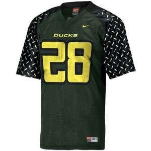 Nike Oregon Ducks #28 Green Pre School Replica Football
